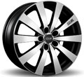 Диски OZ Racing Michelangelo 10 Matt Black Diamond Cut