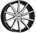 Диски AEZ Straight Black polished front
