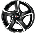 Диски Alutec Shark racing black polished 4ho