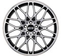 Диски BBS RX Satin Black Diamond Cut