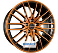 Диски Borbet CW4 Black Orange Glossy