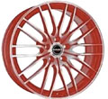 Диски Borbet CW4 Red Front Polished