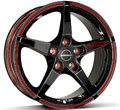 Диски Borbet FS Black+Red