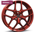 Диски Borbet Y Candy Red