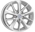 Диски КиК КС658 (Corolla E18) Сильвер