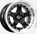 Диски КиК Sport Car Алмаз черный