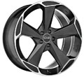 Диски OZ Racing Aspen HLT Matt Black Diamond Cut