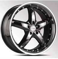 Диски Racing Wheels H-303 BK DP