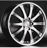 Диски Racing Wheels H-332 BK
